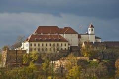 spilberk för republik för brno slott tjeckisk Royaltyfria Bilder