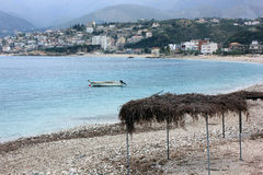 Spile, Himara village Stock Photography