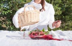 spill av winekvinnan Royaltyfria Foton