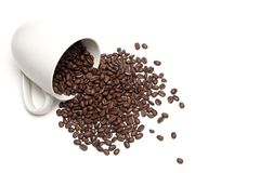 Spill the beans Royalty Free Stock Photo