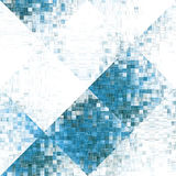Spill blocks. Abstract blocks tumbling in angles Royalty Free Stock Photography