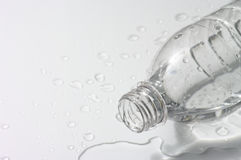 Spill a bottle Royalty Free Stock Photography