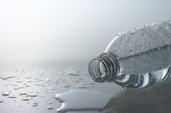Spill a bottle Royalty Free Stock Photo