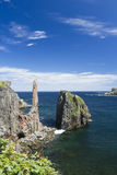 Spillars Cove on Bonavista Peninsula in Newfoundland and Labrado Royalty Free Stock Photography