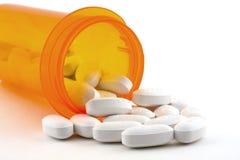 spilld pill Arkivfoto