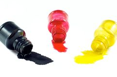 Spilled a bottle Royalty Free Stock Photography