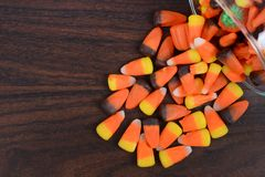 Spilled Candy Stock Photos
