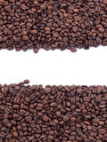 Spilled coffee beans Stock Photo