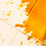 Spilled coffee Royalty Free Stock Photo