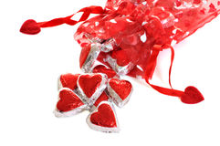 Spilled Hearts Royalty Free Stock Image