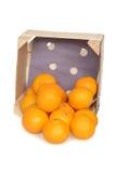 Spilled mandarin oranges Stock Image