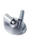 Spilled Metallic Nail Polish Stock Images