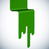 Spilled Paint Royalty Free Stock Images