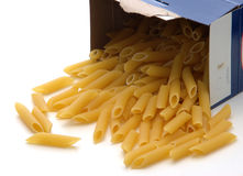 Spilled Penne Stock Photos