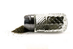 Spilled Pepper Stock Photography