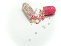 Spilled pill Stock Photos