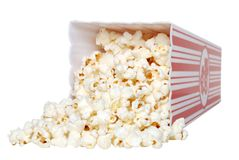 Spilled Popcorn Royalty Free Stock Image