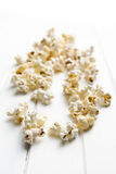 Spilled popcorn Royalty Free Stock Photo