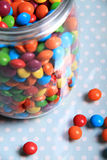 Spilled sweets Royalty Free Stock Image