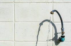 Spilli il fondo all'aperto del cemento Fotografie Stock Libere da Diritti