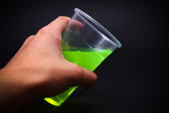 Spilling the poison Stock Photography
