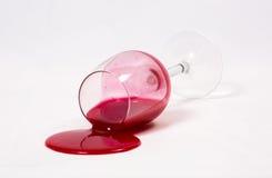 Spillt exponeringsglas Royaltyfria Foton