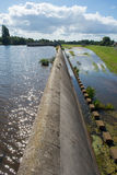 Spillway παρεκτροπής πλημμυρών Στοκ Εικόνα