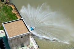 Spillway воды Стоковое фото RF