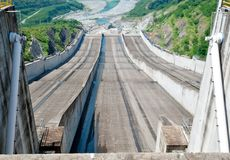 Spillway Royalty Free Stock Photo