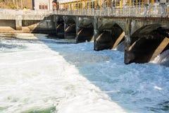 Spillway at the Ballard Locks Royalty Free Stock Photography