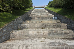 Spillway of a dam Bystricka Stock Photos