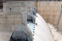 Spillway at Hoover Dam Stock Photos