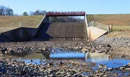 Spillway at Lake Fairfax Reston VA Stock Photos