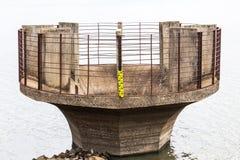 Spillway of reservoir Stock Photo
