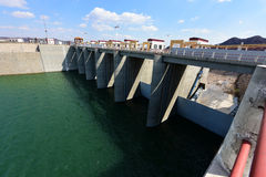 Spillway and sluice Stock Photography