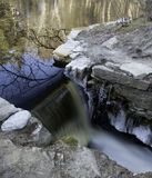 Spillway w zniszczenie strumyku Zdjęcie Royalty Free