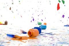 Spilt Paint Stock Images