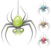 Spin vector illustratie