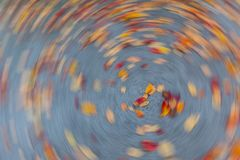Spin Around camera effect photography technique Royalty Free Stock Images