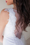 Spin the bride wedding dress cut Stock Image
