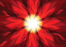 Spin burn flame fire  background Stock Photo