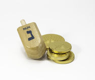 Spin the Dreidel Royalty Free Stock Image