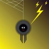 Spin en bliksem vector illustratie