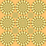 Spin illusion Royalty Free Stock Image