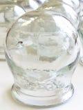 Spin in medisch glas Stock Afbeeldingen
