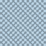 Spin, motion and optical illusion. Vector illustration of impossible shapes. Visual deception - modern optical illusion. Funny and impossible shapes riddle Royalty Free Stock Photography