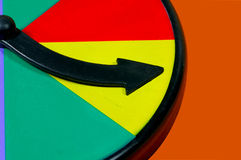 Spin Wheel. Arrow royalty free stock images