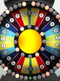 Spin the wheel Royalty Free Stock Images