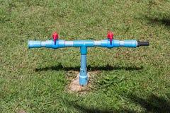 Spina all'aperto del rubinetto di acqua Immagine Stock Libera da Diritti