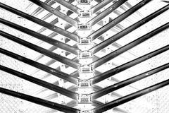 Spina dorsale astratta del metallo Fotografia Stock